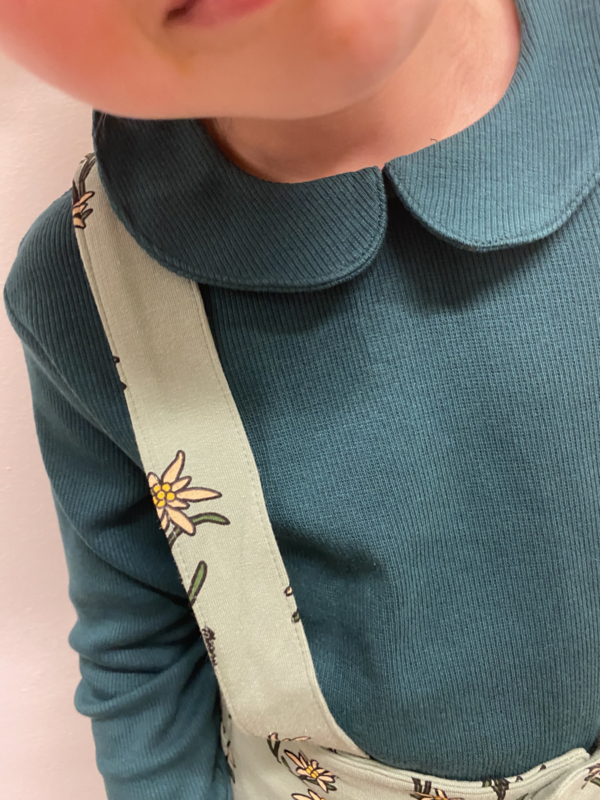 Carlijn Q - Collar Longsleeve Ribbed Botanical
