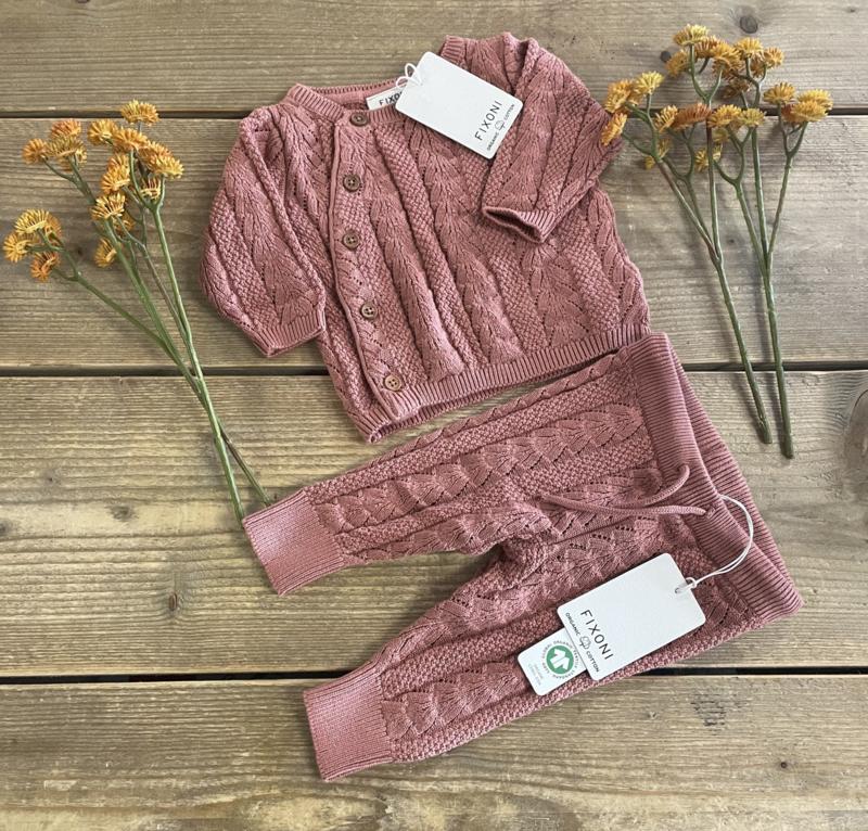 Fixoni - Pants Knit Old Rose