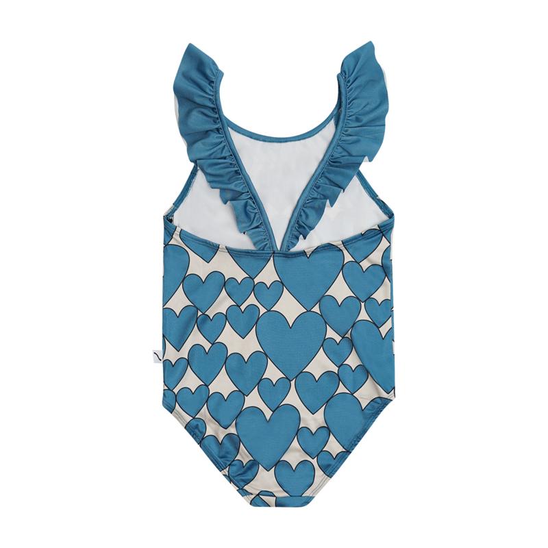 Carlijn Q - Swimsuit Ruffled Hearts