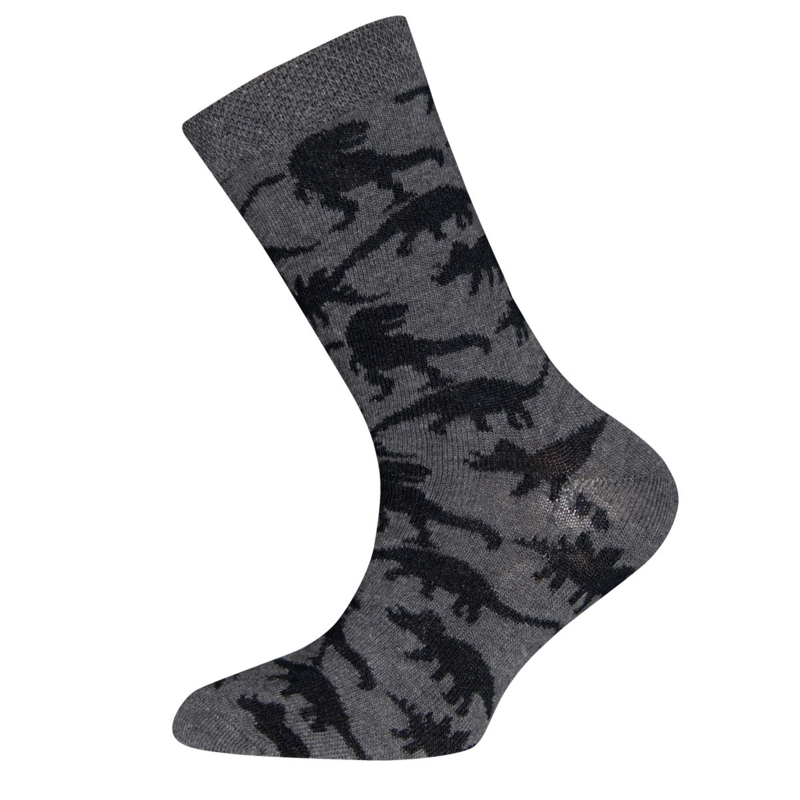 Ewers - Socken Dino Anthrazit Melange