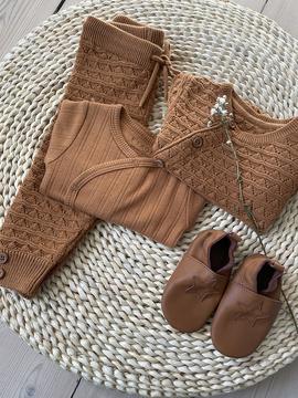 Fixoni - Pants Knit Almond