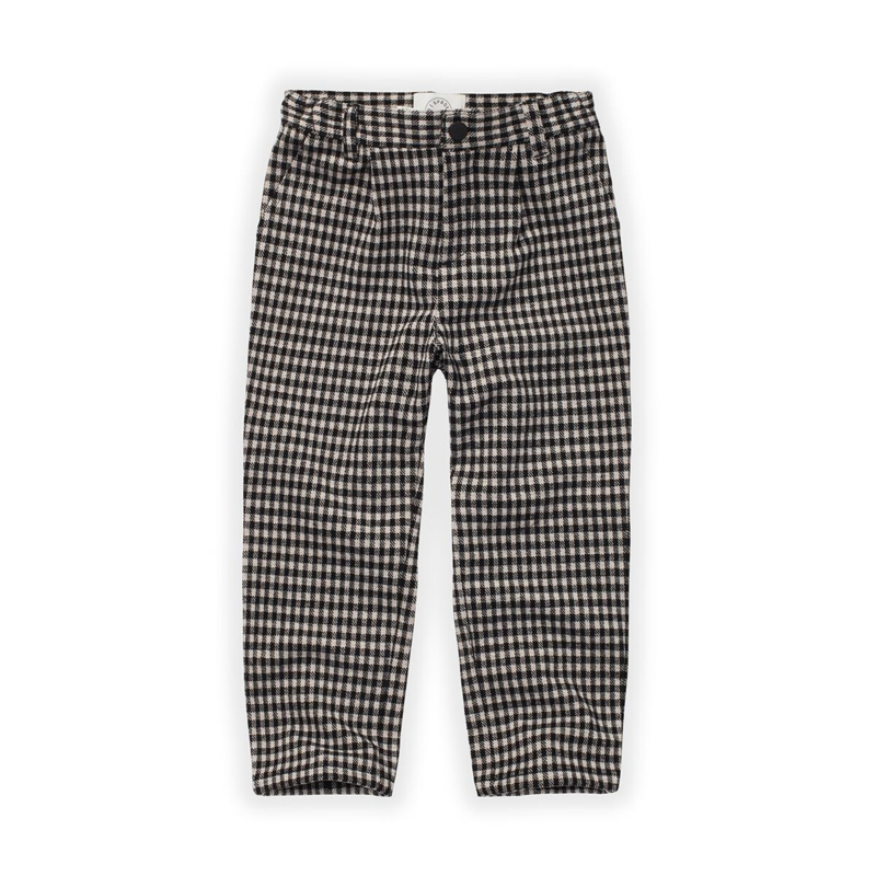 Sproet&Sprout - Chino Pants Block Check Black