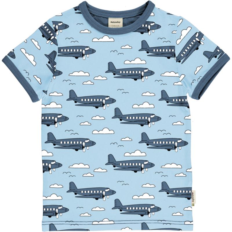 Meyadey - Top Short Sleeves Airoplane