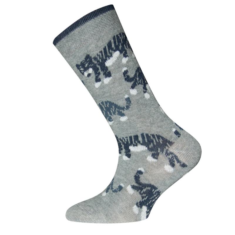 Ewers - Socken Tiger Grau Melange