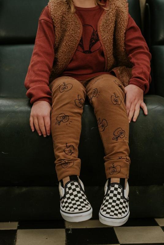 Sproet&Sprout - Legging Apple Print Mustard