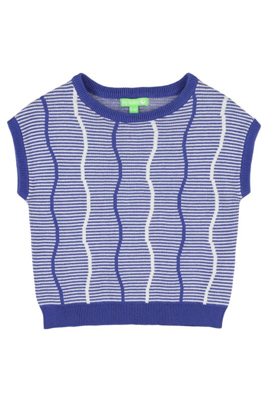 Lily Balou - Bella Knit Top Dazzling Blue
