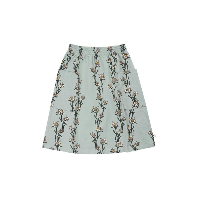 Carlijn Q - Midi Skirt with Pockets Edelweiss