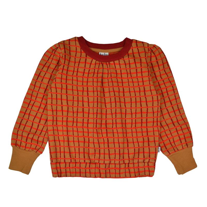 Baba -Beatrice Sweater Jacquard Raster Red