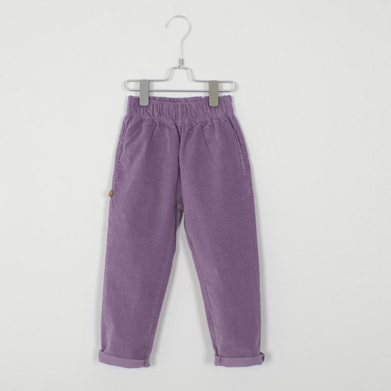 Lötiekids - Velvet Trousers Lilac