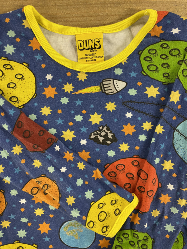 Duns - Lost in Space Blue 104/110