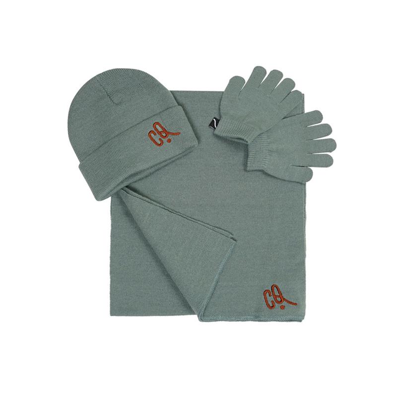 Carlijn Q - Beanie Scarf Glove Set Iceberg