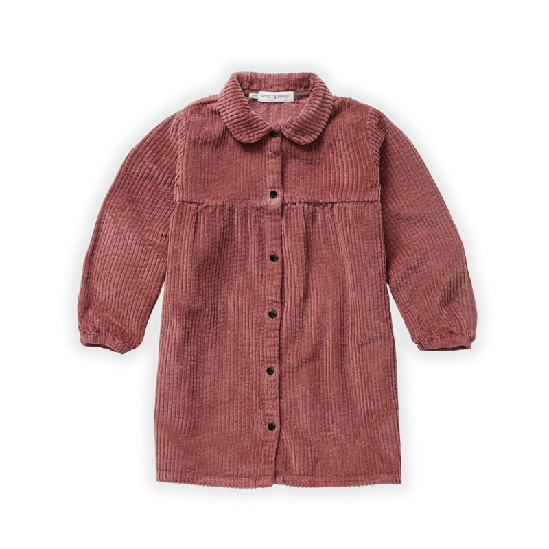 Sproet&Sprout - Dress Corduroy Fig