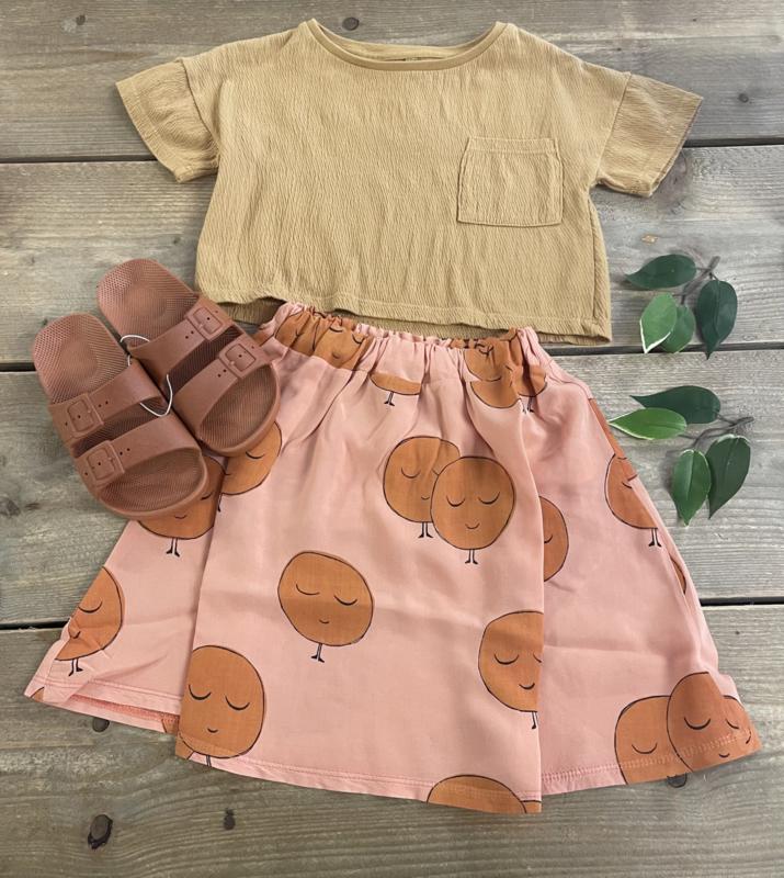 Lötiekids - Skirt Moons Salmon