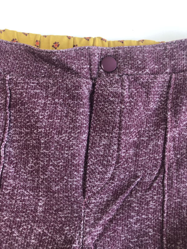 ALBA - Hecco Box Pants Wild Ginger 140