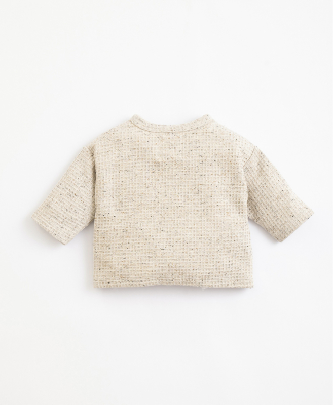 Play Up - Shirt with Recycled Fibres and Cotton Miro