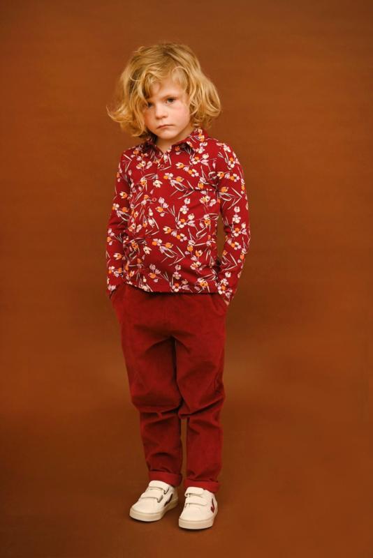 Lily Balou - Staf Trousers Burgundy