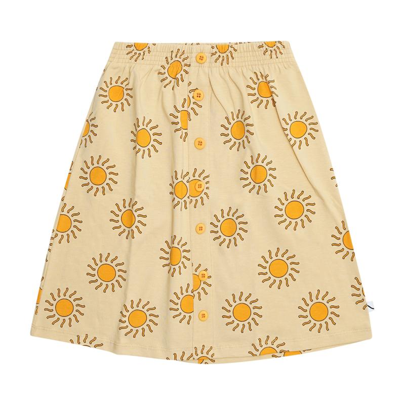 Carlijn Q - Longskirt with Buttons Sunshine