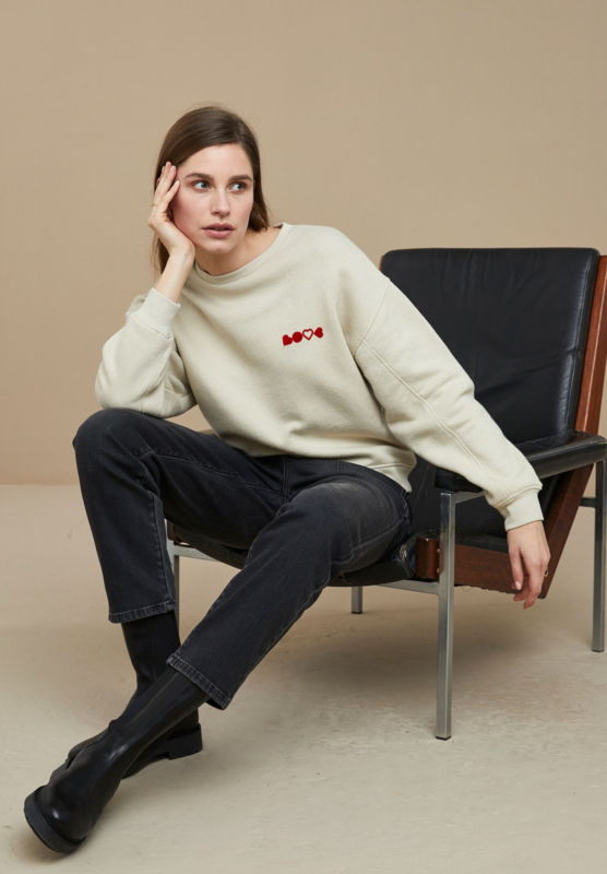 BY-BAR LADIES - Roxy Sweater Chalk