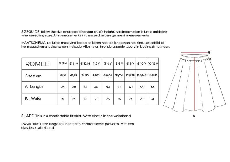 Ammehoela - Romee Skirt Warm Brown 07