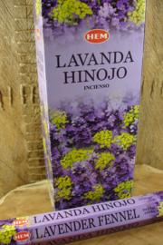 [ N-0304 ] Lavender Fennel Wierook, per buisje á 20 stokjes