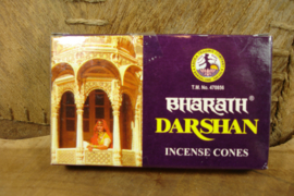 [ N-0468 ] DARSHAN Bharath kegeltjes, 12 stuks per doosje