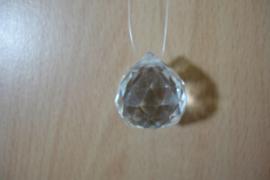 [ N-0277 ] Kristal hanger 21 mm.  per stuk