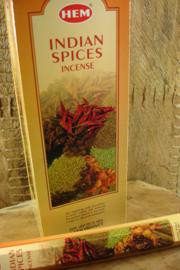 [ N-0303 ] Indian Spices Wierook, per buisje á 20 stokjes