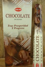 [ N-0459 ]  Chocolate Wierook, per rol á 20 stokjes