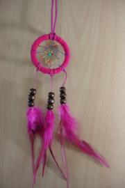 [ N-0231  ] Dromenvanger 6 ½ cm. Roze, per stuk