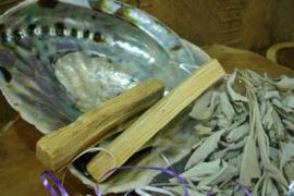 *[ N-0003 ] Reiniging Pakket, set met Salie en Palo Santo