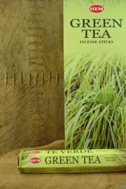 [ N-0311 ] Green Tea Wierook, per buisje á 20 stokjes