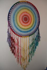 Dromenvanger ring 1 meter doorsnee, Chakra kleuren