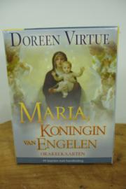 *[ N-0528 ] Kaarten; Orakelkaarten Maria, Koningin van Engelen