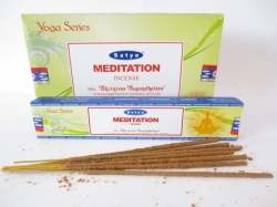 [ N-0112 ]  Wierook  Satya Meditation , per rol a 20 stokjes