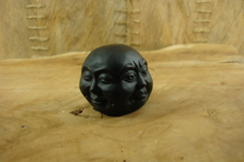 [ N-0279 ] 4 Gezichten Boeddha hoofdje 4.5 cm.