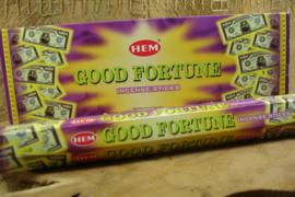 [ N-0316 ] Good Fortune Wierook, per buisje á 20 stokjes