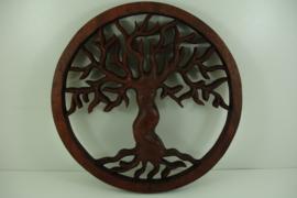 *[ N-0388 ] Levensboom 28 cm. SUAR WOOD, per stuk