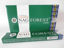 [ N-0109 ]  Wierook: Golden Nag Forest , per rol a 20 stokjes