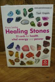 *[ N-0530 ] Kaarten; Healing Stones, is Engels talig