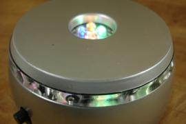*[ N-0485 ] Showlampje rond 8½ cm. met lampje op batterij