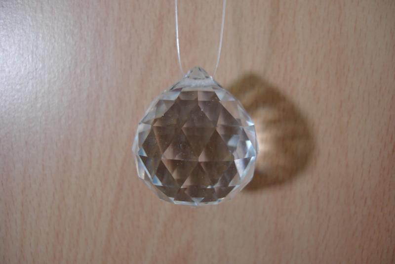 [ N-0278 ] Kristal hanger 31 mm.  per stuk