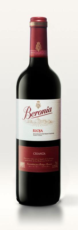 Beronia Crianza, Rioja, Gonzales Byass, 2011