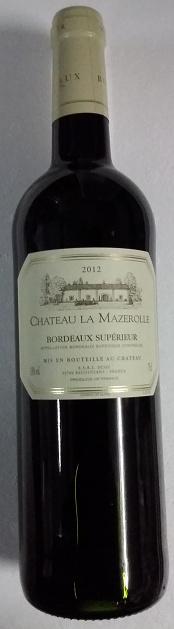 Château La Mazerolle, Bordeaux Supérieur, Jean-Louis Mandreau, 2016