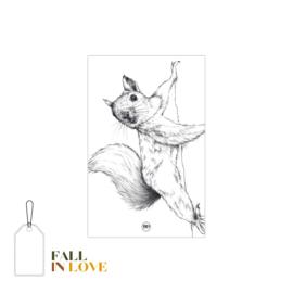 FALL IN LOVE   Kado - label eekhoorn