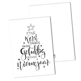 Fijne kerstdagen en een gelukkig...