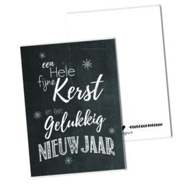 Een hele fijne kerst en een.. | Krijtbord