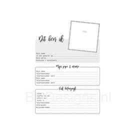 Oppas- Creche dagboek