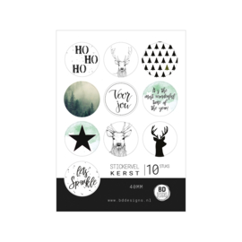 Stickervel | Kerst