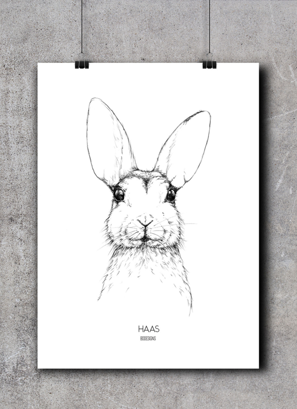 Haas | A4 Poster