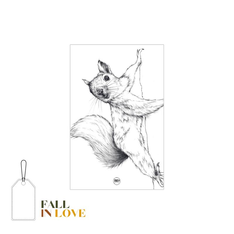 FALL IN LOVE | Kado - label eekhoorn